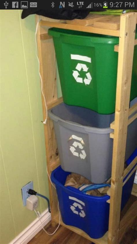 The 25  best Recycling station ideas on Pinterest