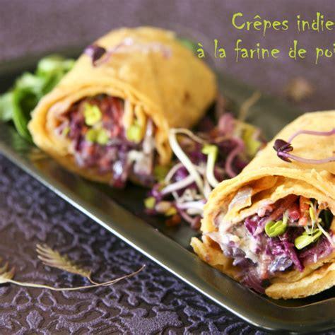 recette crepes indienne  la farine de pois chiches