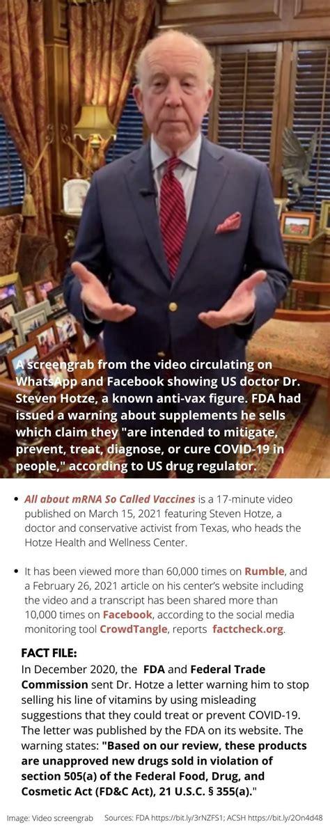 Top 5 vaccine myths: Meet the top COVID-19 anti-vax ...