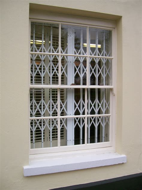 window grilles safeguard security