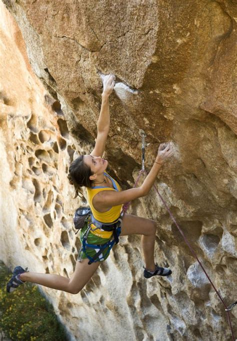 Girls Rock Climbing Equals Good Time Pics
