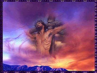 Cross Jesus Animated Stations Fanpop Christ Screensavers