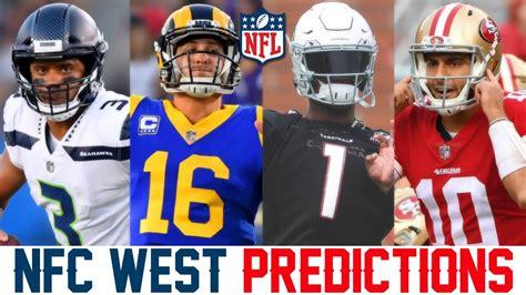 nfc west predictions  nfl predictions  ers