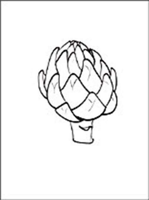 disegni da colorare carciofo disegni da colorare gratis