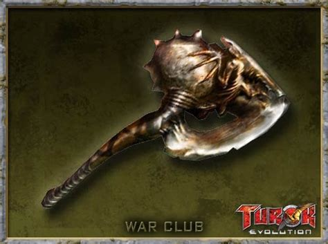 war club weapon turok wiki fandom powered  wikia