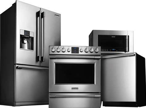Kitchen Appliances: extraordinary 4 piece stainless steel