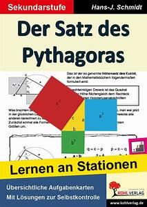 Satz Des Pythagoras Kathete Berechnen : stationenlernen der satz des pythagoras unterrichtsmaterial und arbeitsbl tter school scout ~ Themetempest.com Abrechnung
