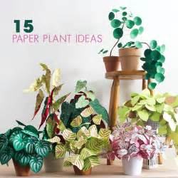 15 diy paper plant ideas crafts pilot