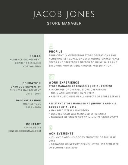 Professional Retail Resume by Sles For Academic Ucsf Career Store