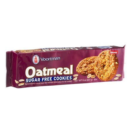 There is a full recipe card below. Voortman Sugar-Free Oatmeal Cookies, 8 Oz. - Walmart.com