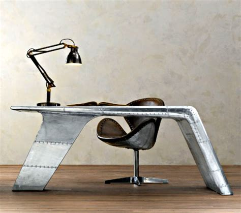 Canadian Aviator Wing Desk by Aviator Wing Desk Cool Material