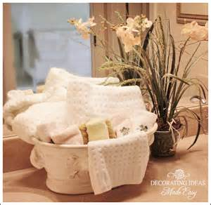 ideas on how to decorate a bathroom bathroom decorating ideas to help you create your own spa