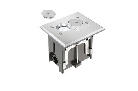 electrical floor boxes poke thru s j h larson company