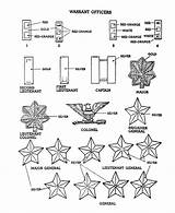 Coloring Armed Forces Pages Army Rank Insignia Sheets Warrant Usa Officers Printables Eagle Activity American Go Activities States United Print sketch template