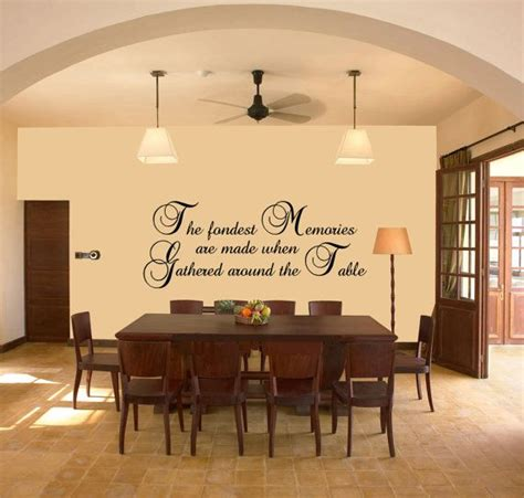 Dining Room Wall Vinyl Quotes Quotesgram