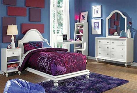 Purple And Blue Bedroom