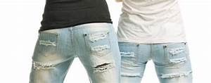 Zerrissene Jeans Ripped Jeans Distressed Jeans
