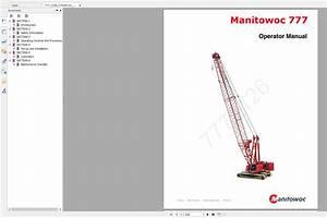 Manitowoc Crawler Cranes Part Manual  Operator