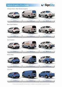signsite vehicle graphics price guide With van lettering cost