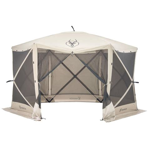 gazebo canopy gazelle 6 sided portable gazebo 666523 screens