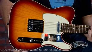 Fender American Elite Telecaster - Tobacco Sunburst