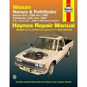 Haynes Repair Manual Nissan Navara D21 86