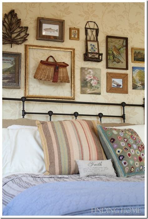 Bedroom Decorating Ideas Gallery Wall  Finding Home Farms