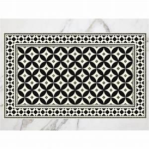 Tapis Vinyl Salon : tapis carreaux de ciment arles ~ Melissatoandfro.com Idées de Décoration