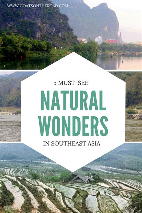 Must See Natural Wonders Southeast Asia Goats