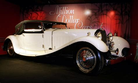 World's Top Five Most Expensive Cars Sold At Auction