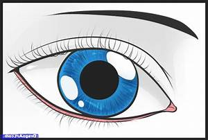 Simple Drawing Of An Eye How To Draw An Easy Eye Step Step ...