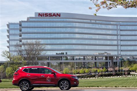 nissan usa headquarters nissan rogue trip driving for charity and helping others