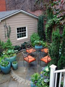Pot Plants For Patios by Optimize Your Small Outdoor Space Outdoor Design