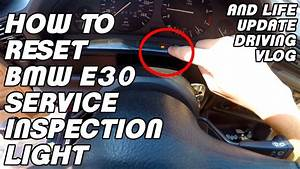 Bmw E30 Service Inspection Light Reset With A Paperclip