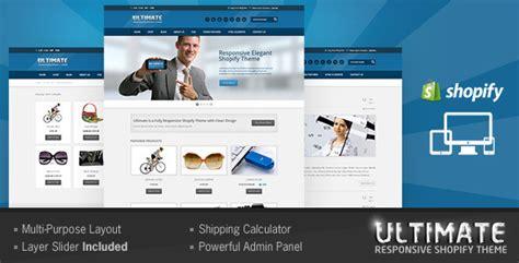 responsive shopify ecommerce themes designmaz
