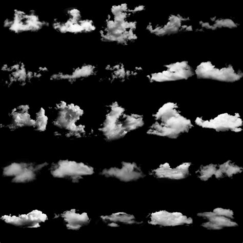 photoshop cloud brushes creatives wall