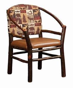 Amish Rustic Hickory Twig Hoop Chair