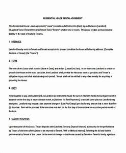 renting contract template - 15 house rental agreement template doc pdf free
