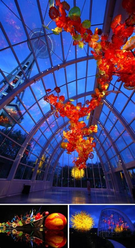 chihuly garden and glass seattle photos a peek inside the chihuly garden and glass museum