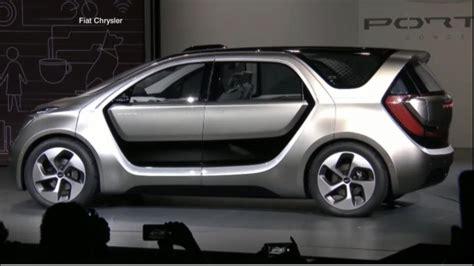fiat chrysler unveils portal concept car  ces  video