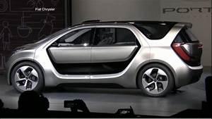 Fiat Chrysler Automobiles : fiat chrysler unveils portal concept car at ces 2017 video abc news ~ Medecine-chirurgie-esthetiques.com Avis de Voitures