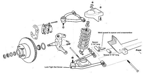 Hub Mustang Ifs Front Suspension