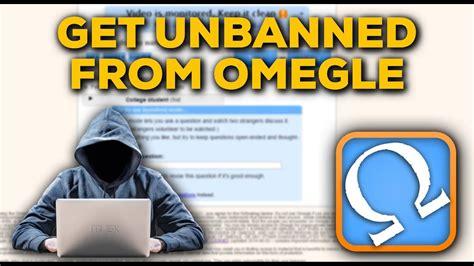 unbanned  omegle  works youtube