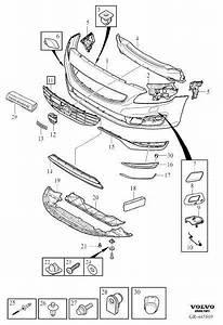 Volvo S60 Inscription Air Guide  Bumper  Body Parts