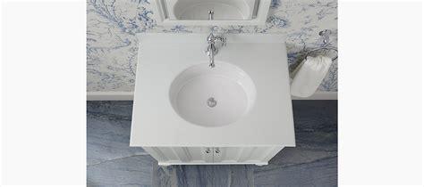 Kohler Verticyl Oval Undermount Sink by Standard Plumbing Supply Product Kohler Verticyl 174 K