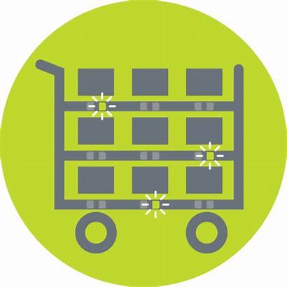 Picking Pick Order Cart Fulfillment Icon Put