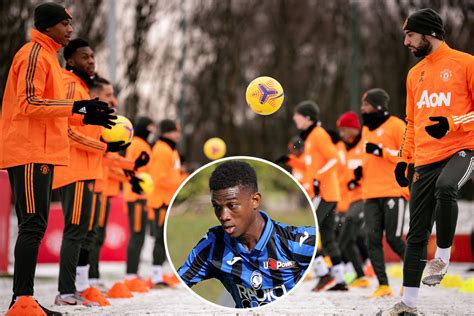 Man Utd wonderkid Amad Diallo, 18, to link-up with ...