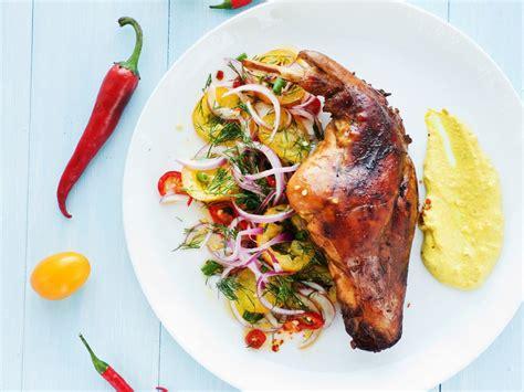 cuisine lapin recette lapin au thym