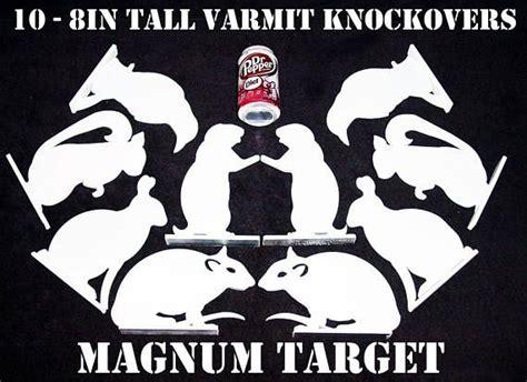 pin  steel shooting targets  magnum target