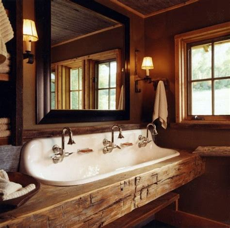 Rustic Bathroom Ideas ? Would you set up your bathroom in